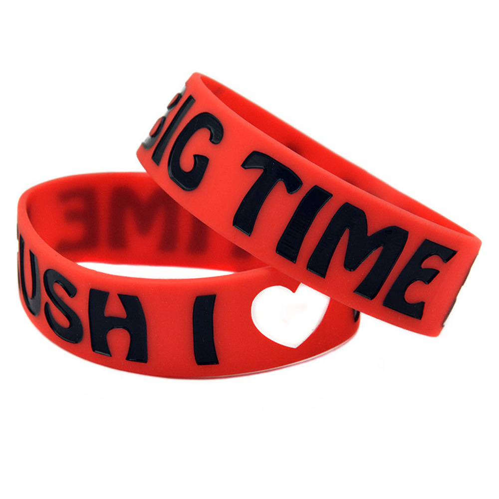 Rubber Silicone bracelets Hand Band Silicone Wristband