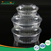 Clear pet clamshell plastic fruit packaging containers