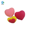 Heart shape colorful soft rich bubble bath sponge