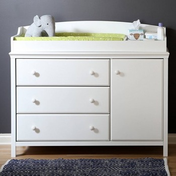 Living Room Furniture 4 Drawer Baby Change Table With Chest