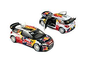"Citroen DS3 #8 WRC Rally France 2012 Neuville / Gilsoul ""Red Bull"" 1/18 by Norev 181553"
