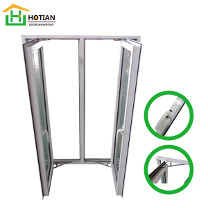 Bathroom Ventilation Window Doors & Windows Glass Price Bifold Horizontal Sliding Window Sash Energy Efficient Aluminium Slider