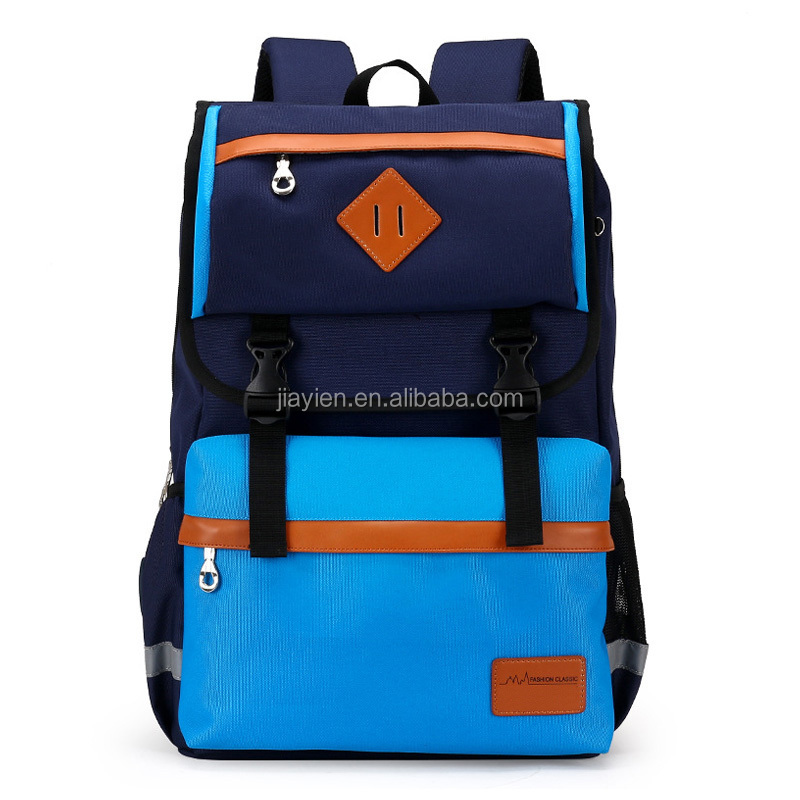 2016 New Arrival Children School Bags High Quality Nylon Backpacks In Primary Comfortable Lighten Burden On <strong>Shoulder</strong> For Kids