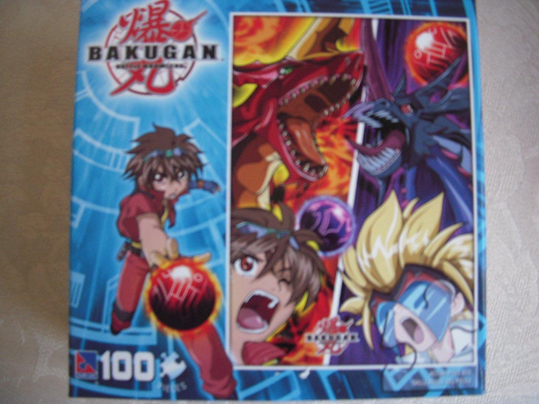 Bakugan 100 Piece Puzzle: Dan and Masquerade Close-up