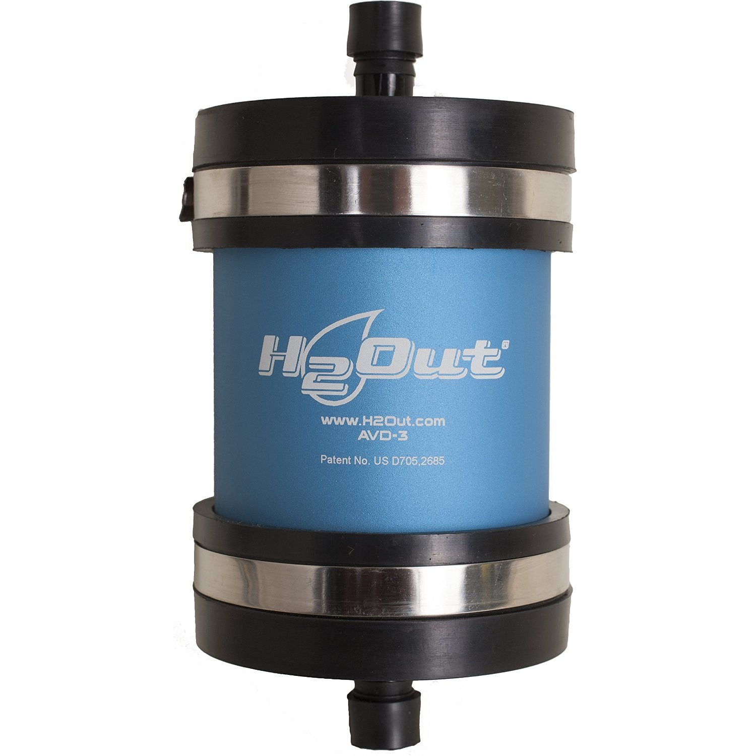 H2Out® AVD3 installs on the fuel tank air vent line to protect engines and fuel tanks—up to 200 gallons—from water vapor.