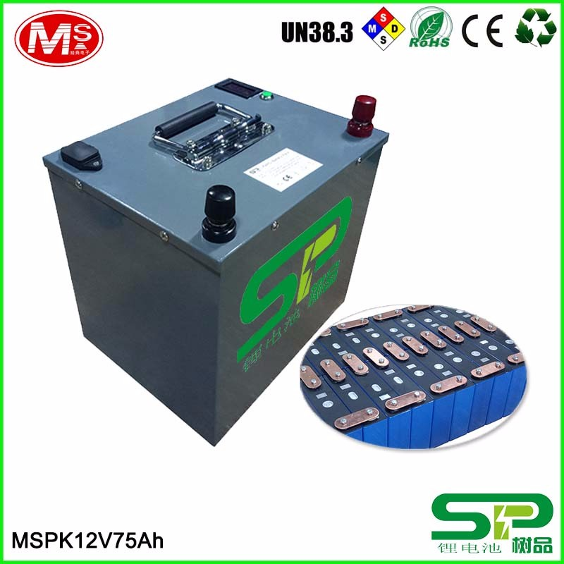 High energy LiFePO4 battery 3.2V 75Ah rechargeable lithium ion battery for solar/wind/UPS/home generator/EV/RV