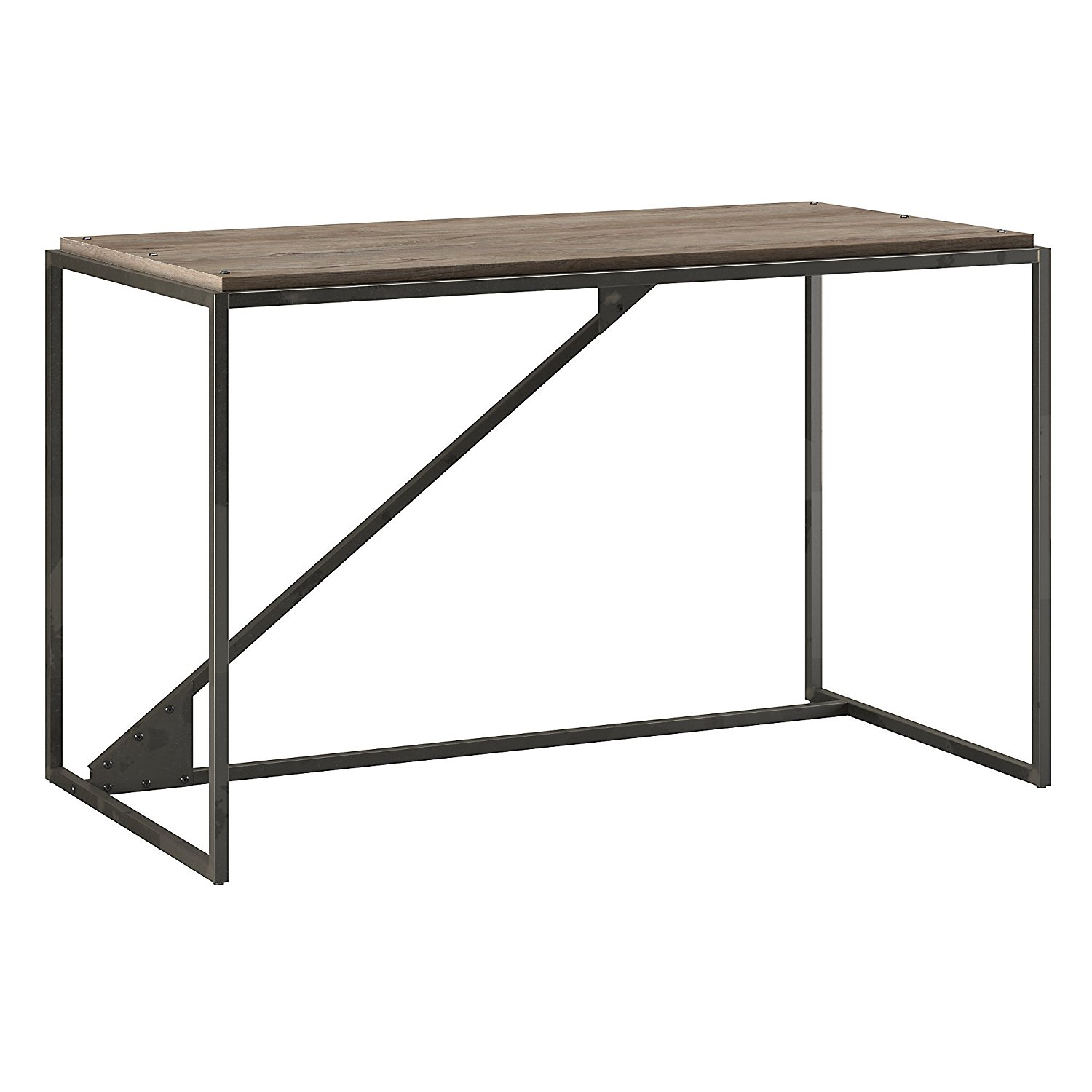 Get Quotations Bush Furniture Refinery 50w Desk In Rustic Gray