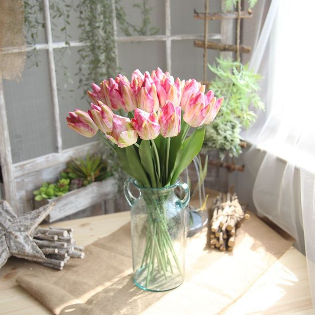Buy cheap china beautiful silk flower products find china beautiful low cost prices durable evergreen flower tulips beautiful silk flowers mightylinksfo