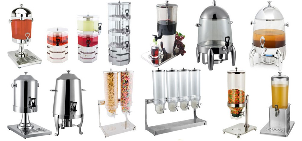 Various Restaurant food and beverage service equipment