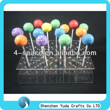Plexiglass Cake Pop Stand