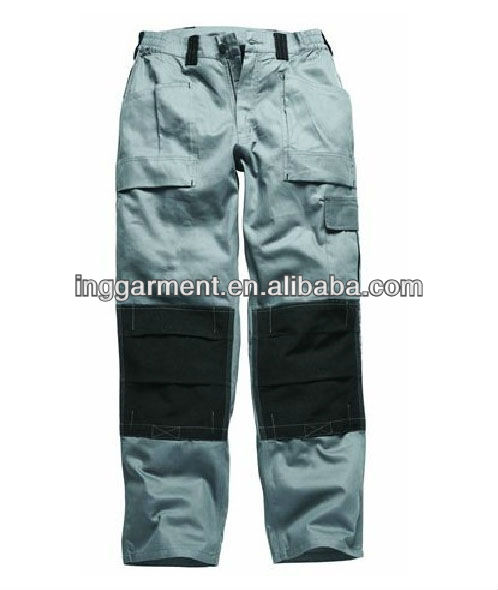 Professional Twill Cargo Pants With Kneepad