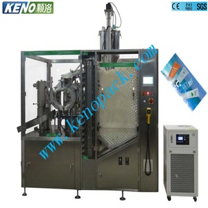 KENO-SF400 Automatic Olive Oil Butter Ultrasonic Plastic Tube Filling Sealing Machine