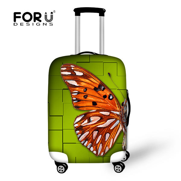 Fashion custom printing spandex luggage protective cover