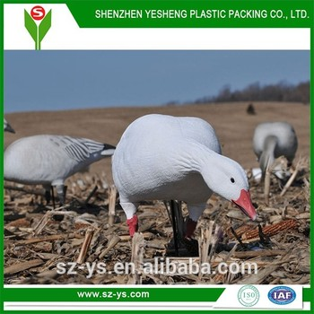 Plastic Goose Decoy In Hunting Decoys,Blow Mold For Decoys,Snow Goose Decoy  - Buy Used Goose Decoys,Snow Goose Decoy,Blow Mold For Decoys Product on