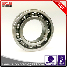 2017 hot sale 6306 6306ZZ 6306-2RS 6306N 30*72*19mm chrome steel GCR15 deep groove ball bearing with high precision
