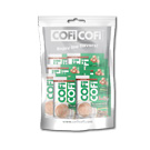 Coficofi Hazelnut - 3 in 1 instant coffee mix - 10 Sachets in a bag