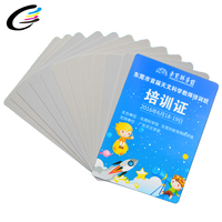 High Quality Plastic Glossy Pvc Business/Id Card With Cheap Pvc Blank Card