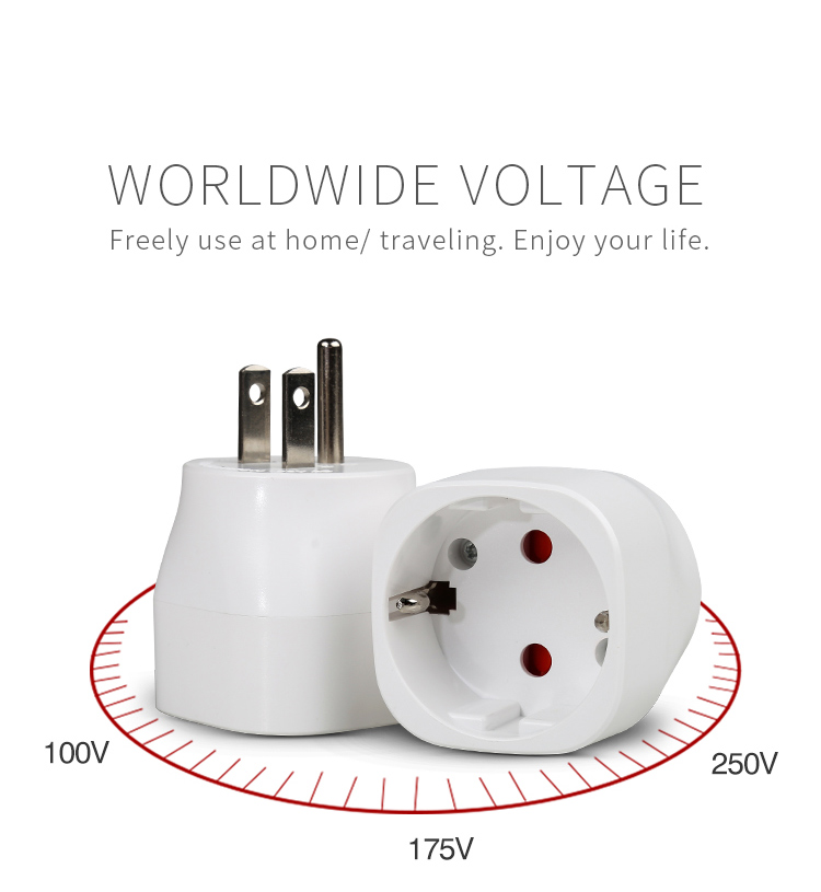 shenzhen songlinda travel adapter us to EU fast moving electronic goods