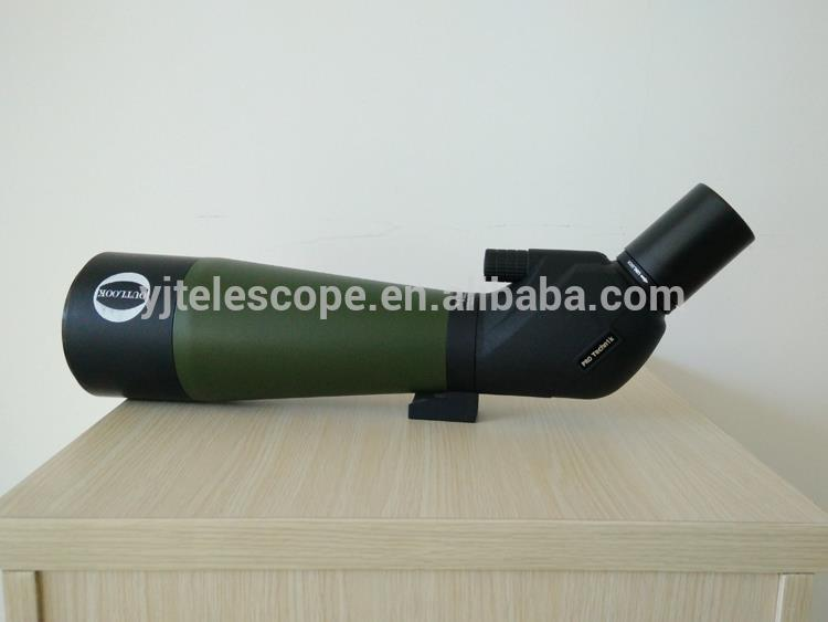 Long Eye Relief Monocular 60-60X80 Spotting Scope