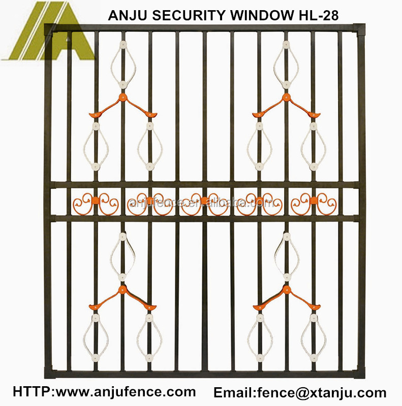 Hl-24 Alibaba China Fashionable New Style Window Grill Design ...