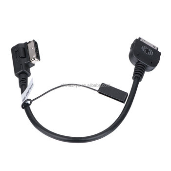 Ami Cable For Iphone For 2010-Up Audi Vw Skoda Music Interface Ami Mmi Cable For Audi A6,A8,Q3,Q7