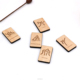 Wooden Domino Game Wood Towering Blocks Puzzles Game Set