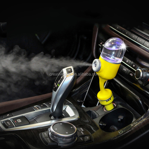 2018 new arrival usb charger car air humidifier aromatherapy ultrasonic essence oil aroma diffuser