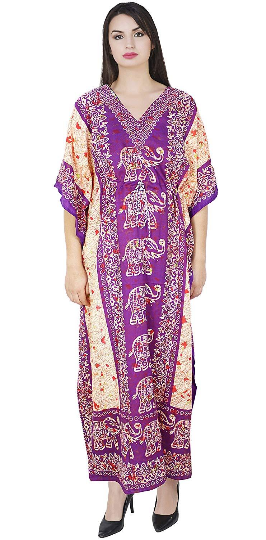 742246c39c SKAVIJ Maxi Length Caftan Kaftans for Women Dashiki Caftan Nightgown Plus  Size