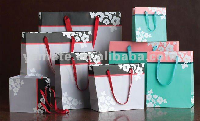 Paper Gift Bags Whole Fancy Wedding