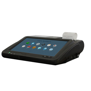 Touch screen pos system 3G NFC QR android pos terminal with printer