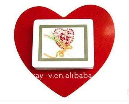 2.4 inch cute mini digital photo frame