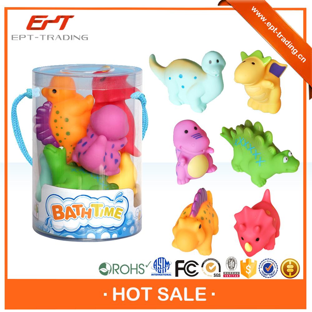 Wholesale Baby Plastic Toy Rubber Dinosaur Bath Toy Set - Buy Bath ...