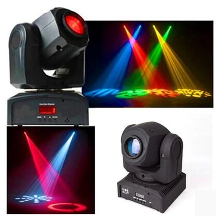 DMX 10w Mini Gobo Projector Led Spot Moving Head