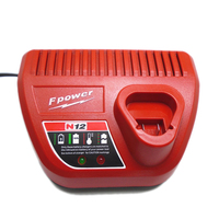 10.8V-12V 3.0A Replacement Li-ion Battery Charger for Milwaukee Cordless Power Tool