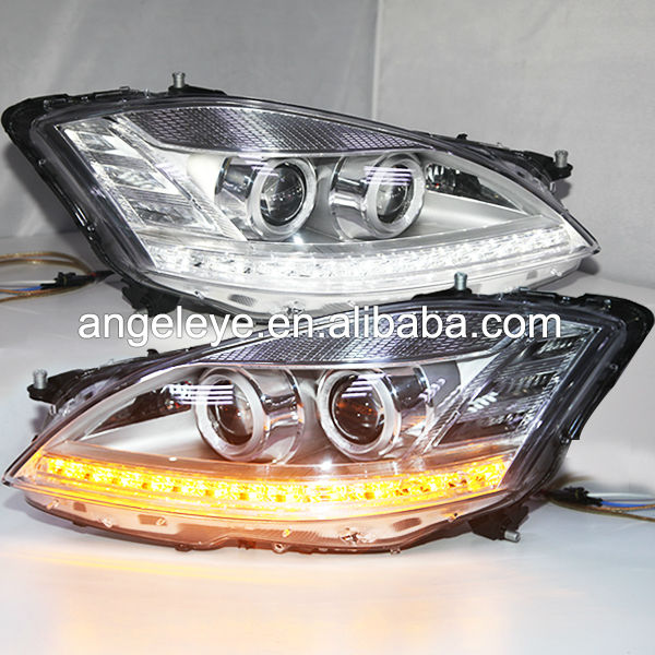 For Mercedes-Benz W221 S350 S500 S600 Headlight 2006-2008 Chrome Color LF