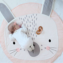 Newborn Kids Floor Mats Baby Crawling Blanket Cotton Children Padded Mat Round Carpet Play Rug Kids Room Decoration