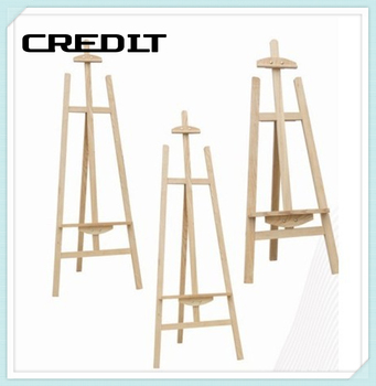 Hot Sale Artist A Frame Adjust Wooden Studio Easel