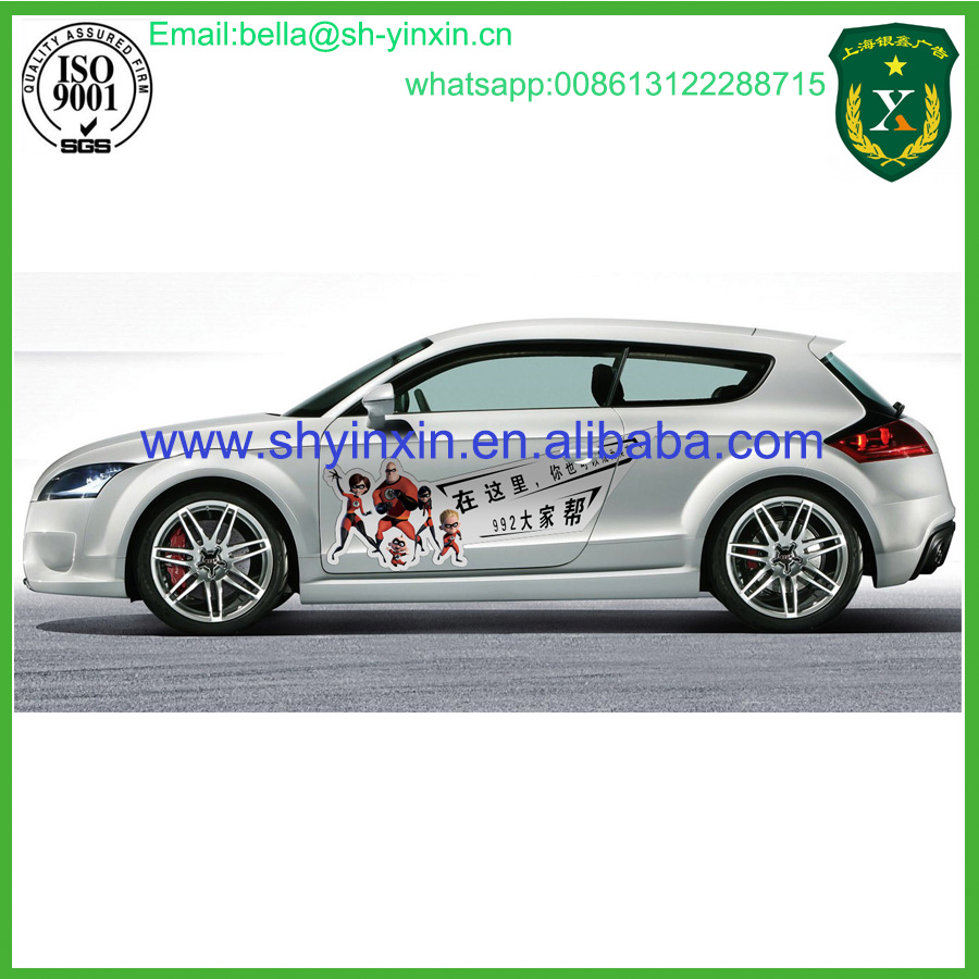 Decoration car sticker design car windscreen sticker