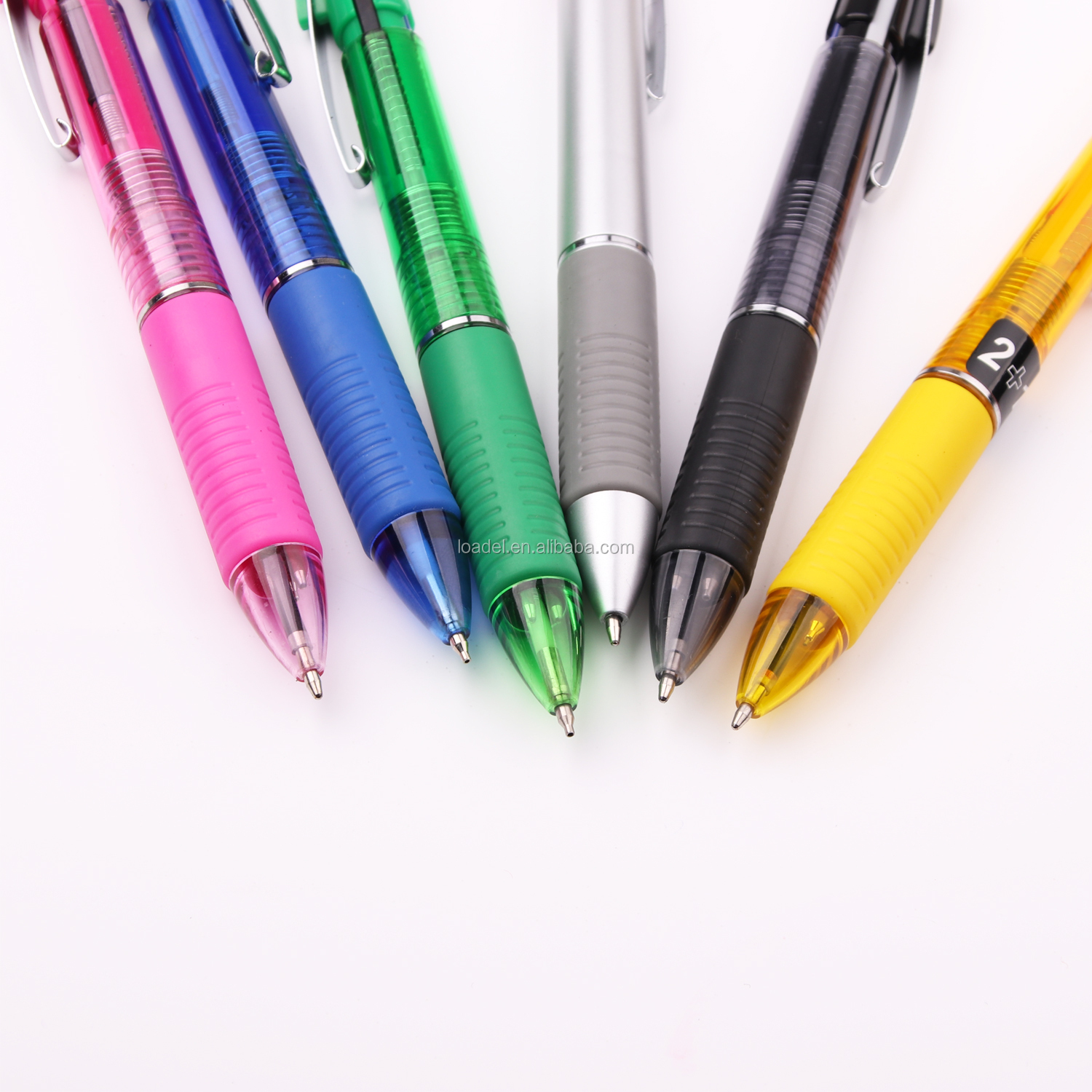 High quality multifunction pen pencil 2 in 1 pen with pencil