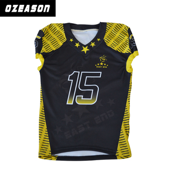 6267cc63e Wholesale youth amerucan football uniforms custom made football jersey