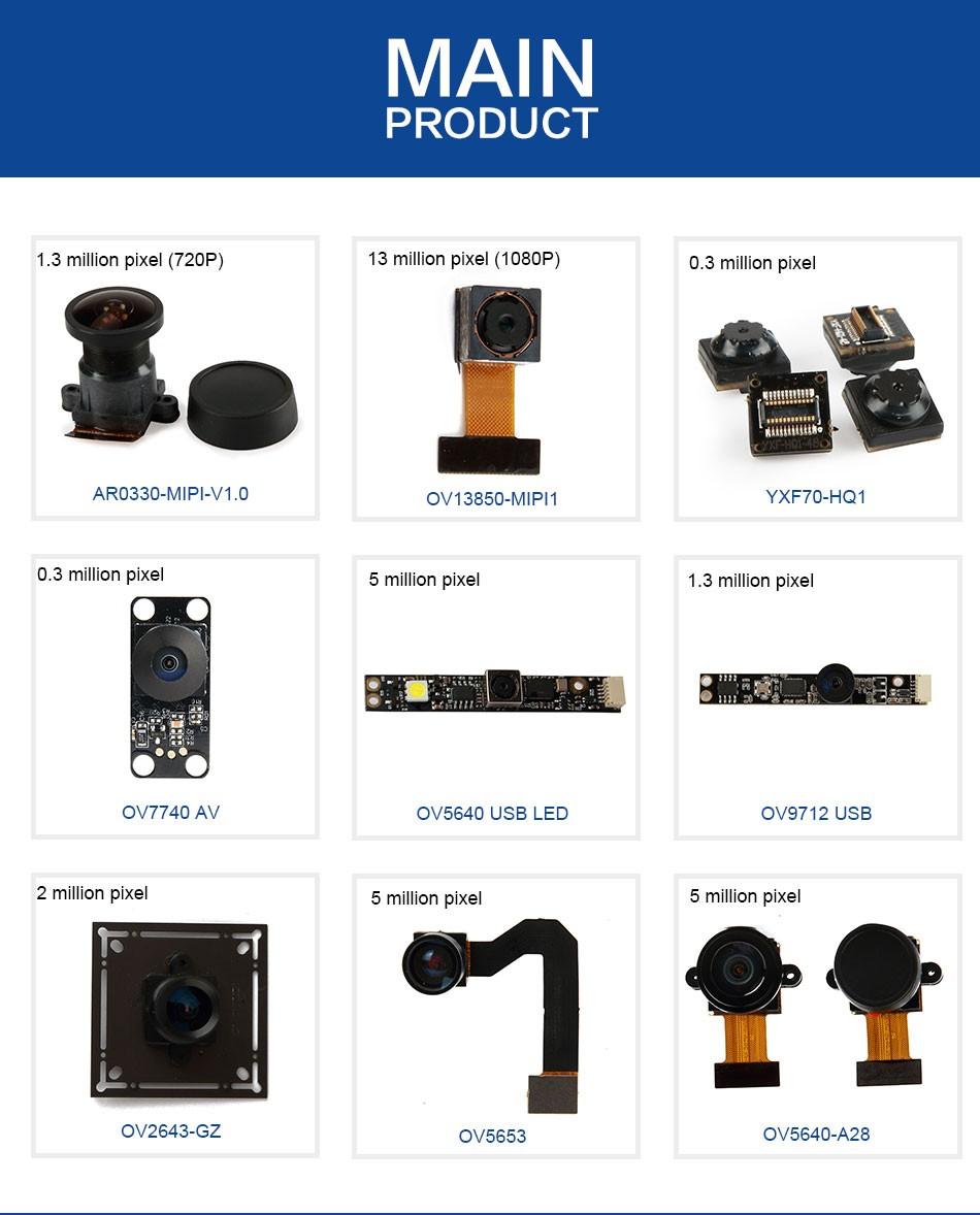Ov5640 / Ov5640-a28 / 1080p / 180 Degree Wide Angle / Camera ...