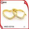 women's accessories hoop earrings wholesale jewelry earrings heart