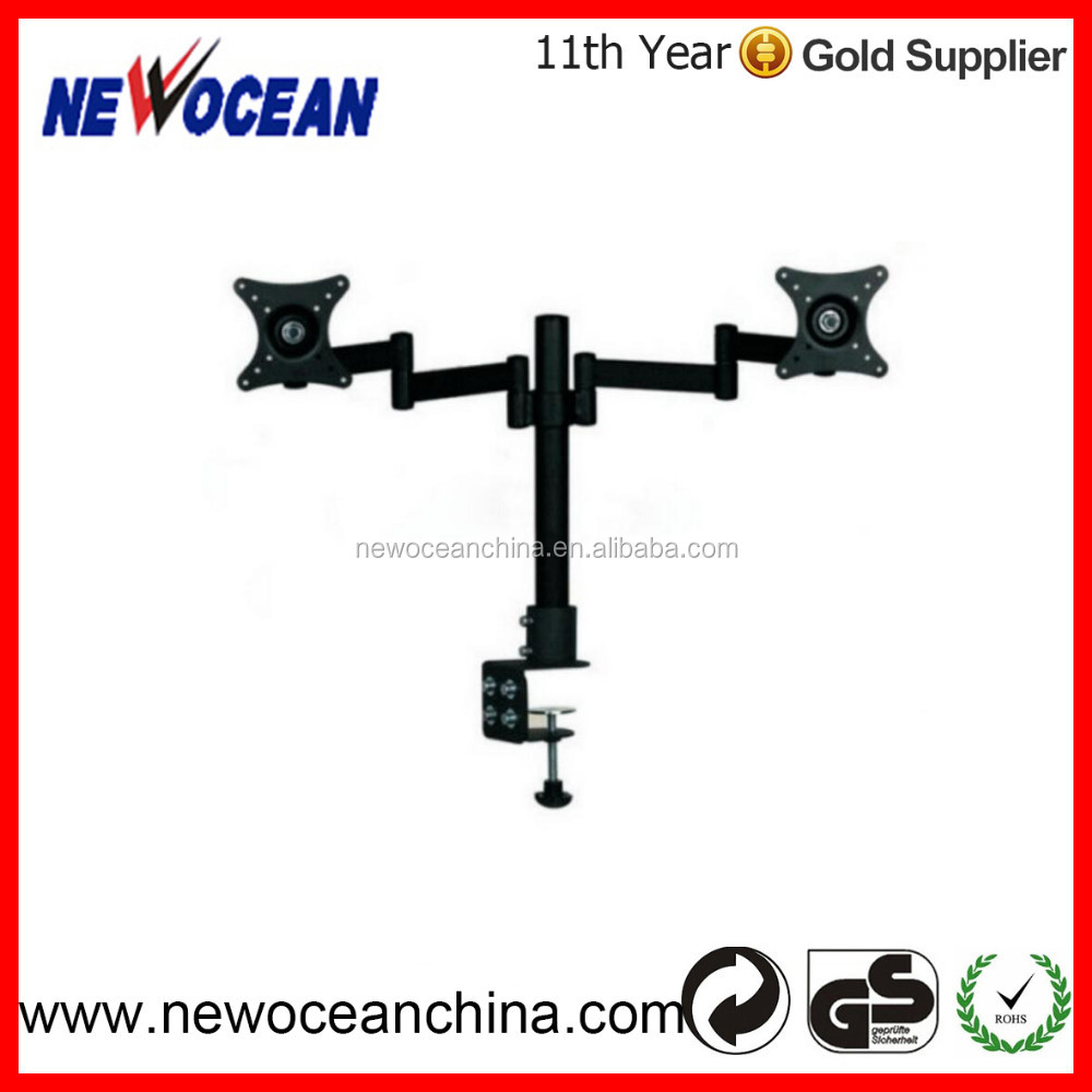 NEW products ! Swivel and Rotating Double Arms computer monitor shelf bracket MB422