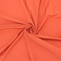 high quality cheap price jersey orange Microfiber polyester fabric mesh