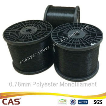 nylon monofilament for zipper