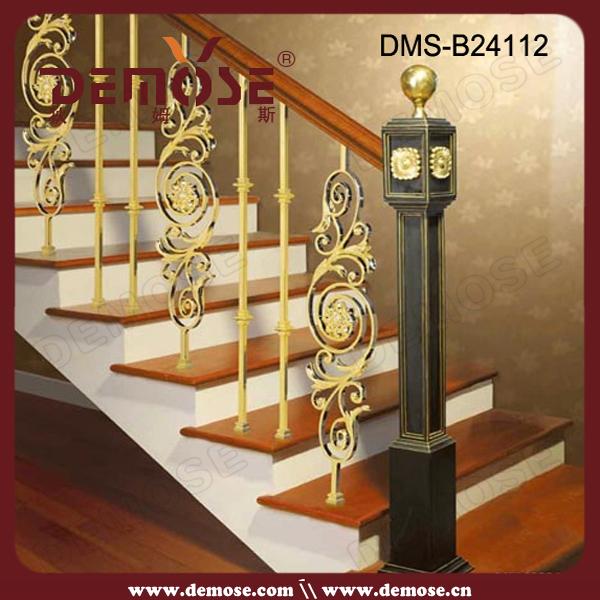 Precio forjado escalera de barandilla de hierro para el - Escaleras de hierro forjado ...