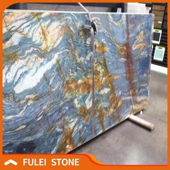 Brazilian Blue Louise Van Gogh Granite Rough Granite Stone