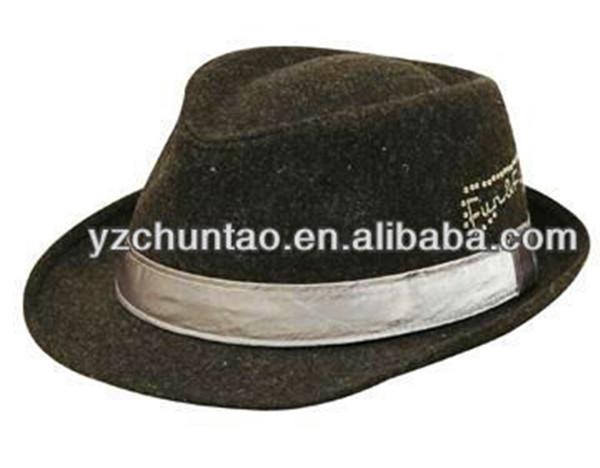 Walmart Audit Promotional Felt Men Fedora Hat 1fbdb247a19