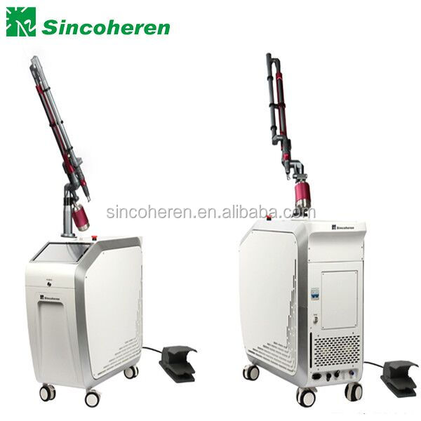 Super quality Medical CE approved Q-Switched Nd:yag laser machine equipment skin care tattoo all spots pigment removal