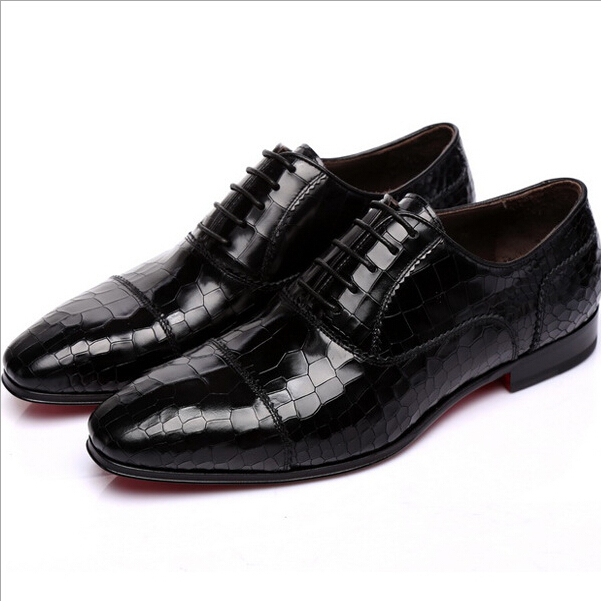 High quality Man dress shoes italian men shoes zapatos hombre vestir creepers lace up flats tenis masculino zapatos hombre A22